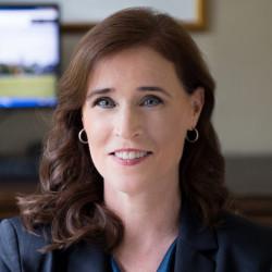 Christine Riordan, President of Adelphi University