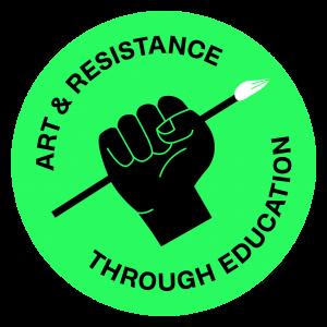 Art and Resistance Through Educaton - ARTE Logo